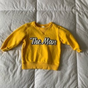 Only worn once 12 month sweatshirt.